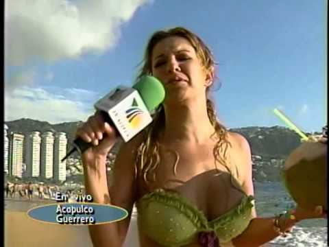 Ingrid Coronado Playa Bikini