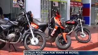 Estalla Polémica por venta de motos Venezolanas