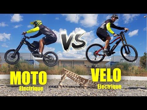 MOTO Electrique Vs VÉLO Electrique