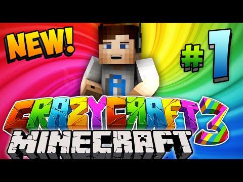 Minecraft Crazy Craft 3.0 (Ep 1) -