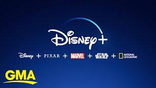 Disney+ debuts as destination for Disney, Marvel, Star Wars, Pixar and more l GMA