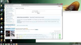 Download movies by using torrents