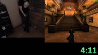 Beating Harry Potter 2(PC) on a unicycle (4k follower special)