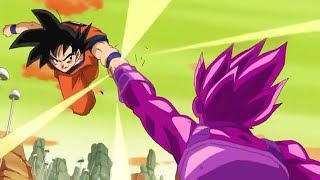 DB Super [Ep 46] Base Goku vs. Copy Vegeta