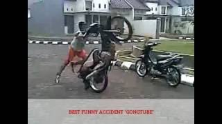 [GONG] COMPILATION BEST FUNNY ACCIDENT IN THE WORLD 1 - KECELAKAAN LUCU