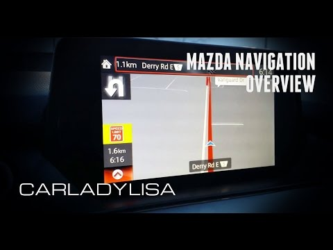 MAZDA NAVIGATION | REVIEW [MAZDA CONNECT]