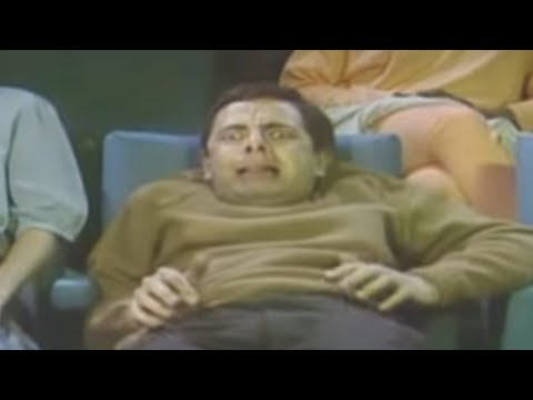 Halloween with Mr Bean - Watching a horror movie