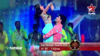 Romance is in the air at the STAR Parivaar Awards 2015