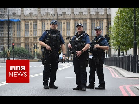 Xxx Mp4 Armed Police At Westminster Crash Site BBC News 3gp Sex