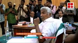 Kerala CM Oommen Chandy deposes in solar scam case