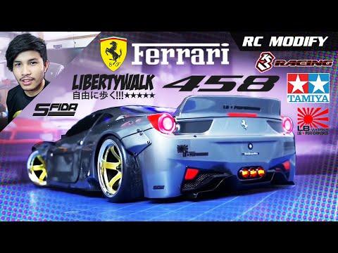 Xxx Mp4 RC Modify 21 Ferrari 458 Liberty Walk Sakura D4 RWD 3gp Sex