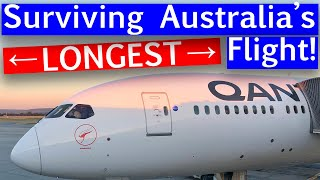 QANTAS: Perth to London 787 BUSINESS CLASS