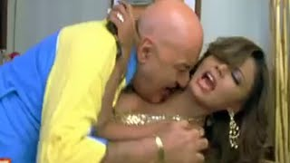 Rakhi Sawant forced by old men in room