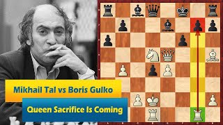 Mikhail Tal vs Boris Gulko: Every Chess Player Should See This Beauty