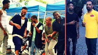 """(T.I. Mike Epps 21 Savage Teyana Taylor) New Movie """"The Trap"""" On Set Footage """"21 Shows Acting Skills"""