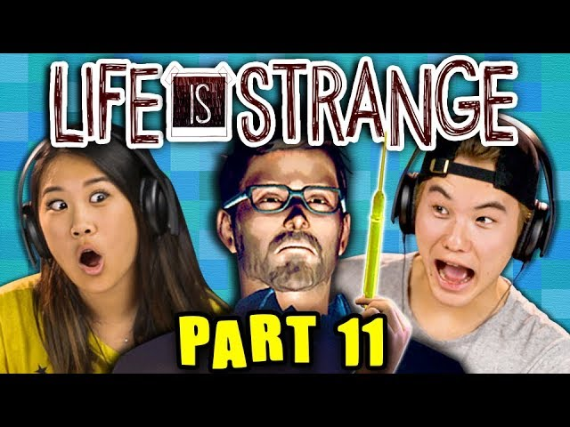 NOWHERE TO HIDE!!!!!! | LIFE IS STRANGE - Part 11 React: Gaming