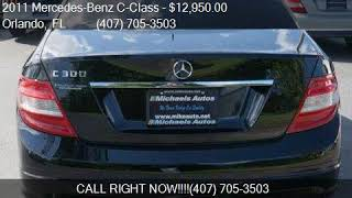 2011 Mercedes-Benz C-Class C 300 4dr Sedan C300 Sport RWD fo