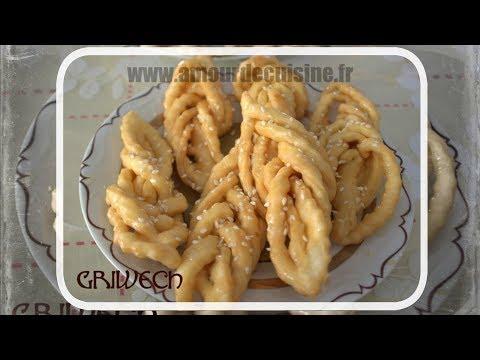griwech griweche gateau algerien au miel