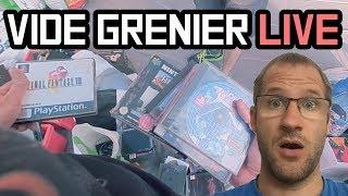 GROS CRAQUAGE EN VIDE GRENIER LIVE !