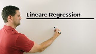 Lineare Regression, Sxx, Sxy, Syy, Berechnung, Alternative | Mathe by Daniel Jung
