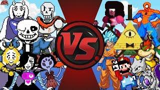 WHY DOES UNDERTALE ALWAYS WIN!?! (Undertale vs Gravity Falls, Steven Universe, Mario, & More) Bendy?