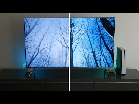 Xbox One S 4K HDR Ultra HD Blu Ray Test Samsung KS8000