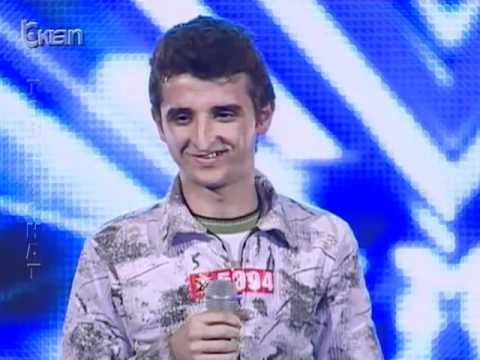X Factor Albania 8 Janar 2012 Aziz Ruda