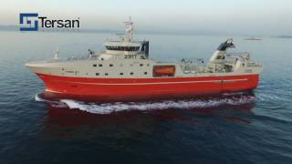 Rammi HF takes delivery of their new modern stern freezer trawler