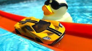 Hot Wheels Pool Day!