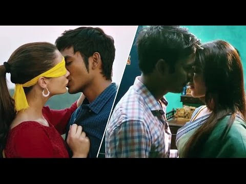 Amy Jackson & Samantha hot liplocks with Dhanush in Nava Manmadhudu movie Official Trailer