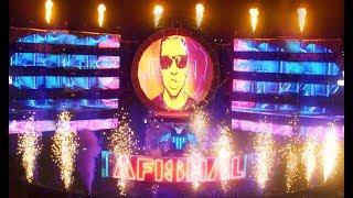 DRUMMER CREATES A VISUAL WAY TO DJ - LIVE - AFISHAL