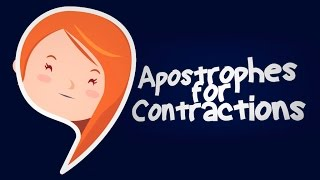 Apostrophes and Contractions for Kids