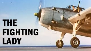 WW2 Aircraft Carrier in the Pacific War | The Fighting Lady | Color Documentary | 1944