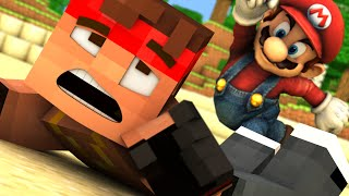 Minecraft: 3rd Time unLUCKY MARIO BOSS BATTLE