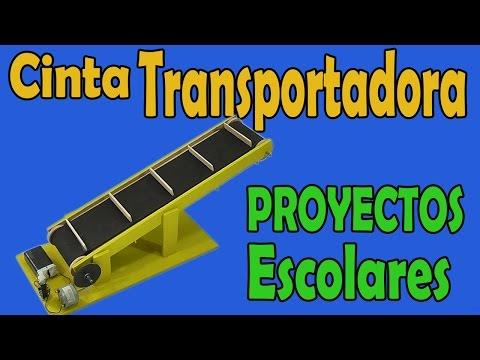 Proyectos Cinta Transportadora Casera muy fácil de hacer