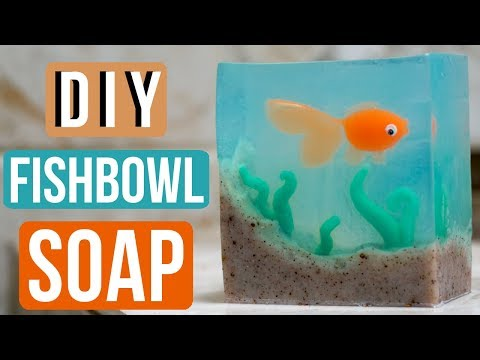 DIY Fishbowl Soap Inspired By Threadbanger Royalty Soaps