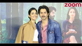 Varun Interacts With His Female Fans At October's Trailer Launch | Bollywood News