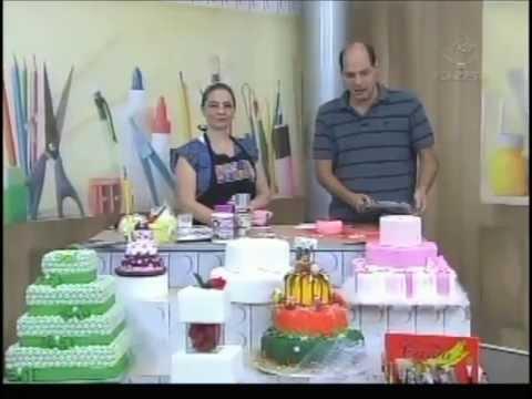 Ateliê na Tv Tv Gazeta 17 04 13 Geziela Cristina