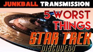 Top 5 Worst things in Star Trek Discovery