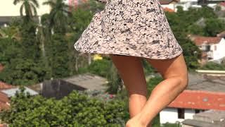 Female Dancer Wearing Skirt