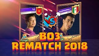 Tali Vs SergioRamos | Bo3  - Rematch 2018