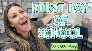 A Day in the Life of a 3rd Grade Teacher - FIRST DAY OF SCHOOL!!