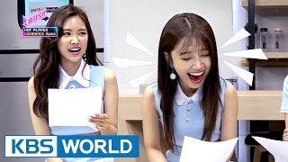 Apink, HALO, Battle K-FOOD [KBS World Idol Show K-RUSH Live - Ep.19 / 2017.07.14]