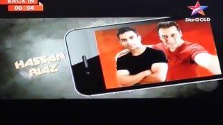 Salman Khan With Hassan Riaz Selfie On StarPlus StarGold TV Must Watch