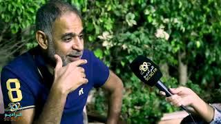 محمود البزاوي : السبكي قال محمود البزواي هيعملي مشاكل في  حرب كرموز | الراديو بيضحك