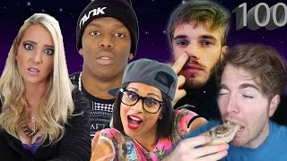 Top 100 Most Subscribed Youtube Channels - April 2017