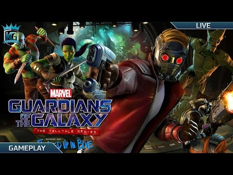 Marvel s Guardians of the Galaxy The Telltale Series Episode 1 Tangled Up In Blue 1080p 60FPS