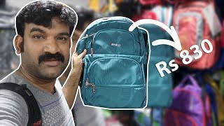 Travel Bag 830 കൂടുതൽ ആണോ ??