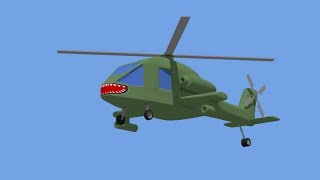 Military #Helicopter - Attack Helicopter . war! | Fairytales for Kids | Helikopter Wojskowy Bajka