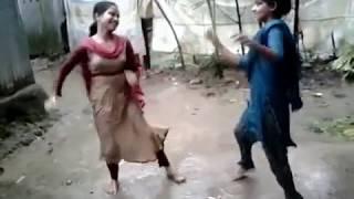 বৃষ্টি ভেজা তরুনীর হট ড্যান্স | Hot Dance in the Rain